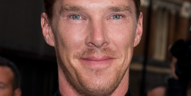 Benedict Cumberbatch arrives at the GQ men of the year awards. Photo/Getty