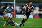 Shaun Johnson will need to continue his good form when the Warriors play Penrith. Photo / Getty Images