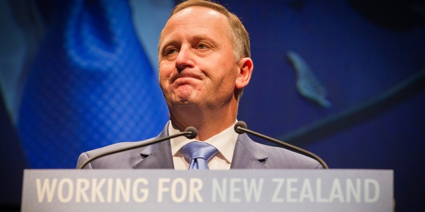 John Key is captain of a ship that's lost its way. Photo / Greg Bowker