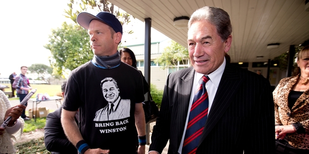 "Winston Peters says he will ""utterly insist"" on a royal commission of inquiry. Photo / Dean Purcell"