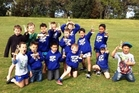 The undefeated Papamoa Bulldogs Under-7 team.