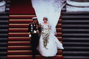 Prince Charles, Prince of Wales and Diana, Princess of Wales leave St. Paul's Cathedral following their wedding on July 29, 1981. File photo / Getty Images