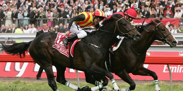 Delta Blues beats Pop Rock in the 2006 Melbourne Cup. Japan may repeat the dose this year.Picture / Getty Images