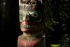 The Canadian totem pole in the Government Gardens will be removed during a special ceremony next week. Photo / Stephen Parker