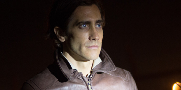 Jake Gyllenhaal in a scene from his new film Nightcrawler.