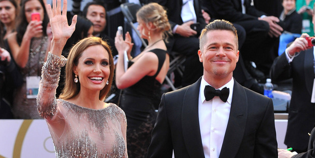 Angelina Jolie and Brad Pitt. Photo/AP