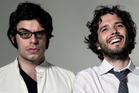 Flight of the Conchords duo Jemaine Clement and Bret McKenzie.
