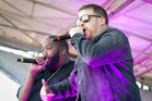Run The Jewels perform at Auckland's Laneway Festival earlier this year. Photo/Sarah Ivey