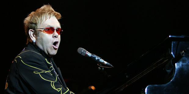 Elton John will be performing in Wellington next year.