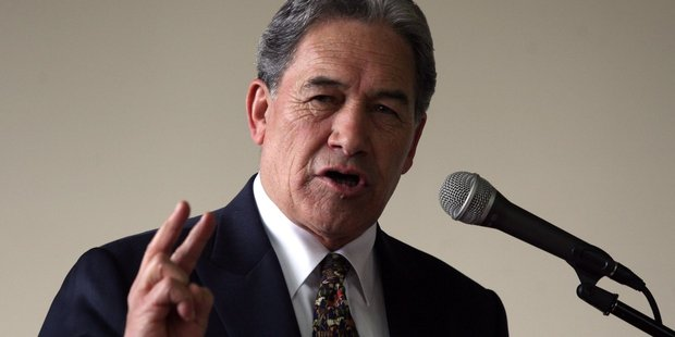 Winston Peters was contacted by the man police want to question over the Work and Income shootings.