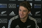 Beauden Barrett will make his first test start in the number 10 jersey for the All Blacks, replacing Aaron Cruden who is still recovering from the chest muscle injury suffered in the Bledisloe Cup test victory two weeks ago.