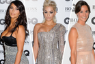 Kim Kardashian, Rita Ora and Pippa Middleton at the GQ Awards. Photo / AP