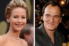Jennifer Lawrence and Quentin Tarantino. Photo / AP; Thinkstock