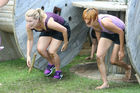 OBSTACLES: Participants can expect to be ducking, climbing, crawling and jumping their way around the Urban Assault course. PICTURE: GEMMA BARTLEY