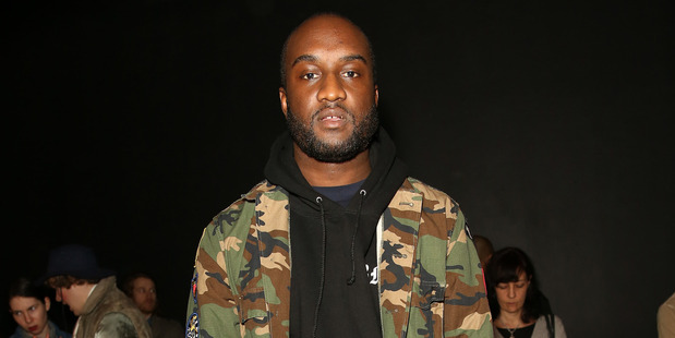 Virgil Abloh's love for shabby chic is translated in his Off White collection, with its distressed aesthetic. Picture / Getty Images