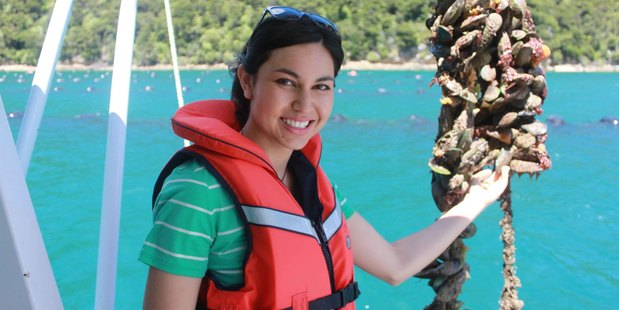 Nadia Lim's new show took her from the Marlborough Sounds to Queenstown. Photo / Supplied