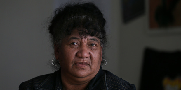 Te Tuinga Whanau Support Services Trust social services manager Piki Russell said staff were often confronted by aggressive people on the edge of breaking point. PHOTO/JOHN BORREN