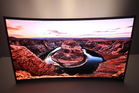 The LG Curved OLED TV.