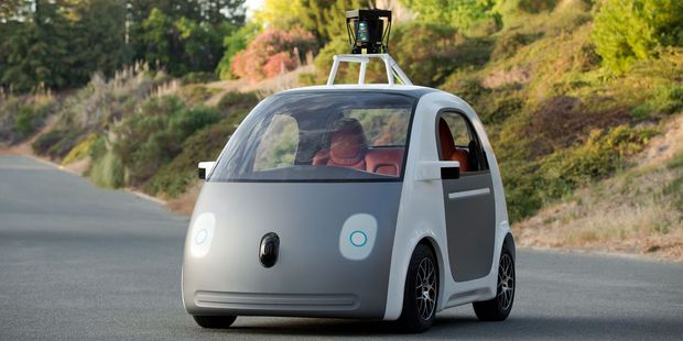 Google's autonomous car is being tested on closed roads in California, but can't drive in poor weather. Photo / Supplied