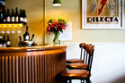 Interior detail from Dilecta restaurant. Picture / Babiche Martens