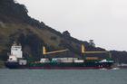 Vega Auriga coming into Tauranga Harbour. Photo / George Novak