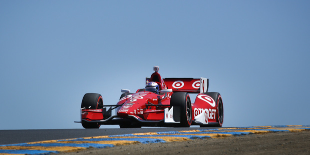 Scott Dixon claimed the championship last year. Photo / AP