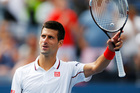 Novak Djokovic, of Serbia, waves to the crowd after defeating Sam Querrey, of the United States, during the third round of the 2014 U.S. Open tennis. Photo / AP