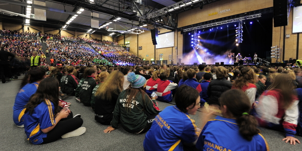 AIMS Games opening ceremony 2013. Photo/file