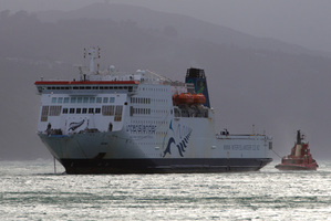 The Interislander ferry Kaitaki. Photo / Mark Mitchell