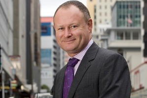 Sean Hughes, former head of the Financial Markets Authority, in Wellington. Photo / Mark Mitchell