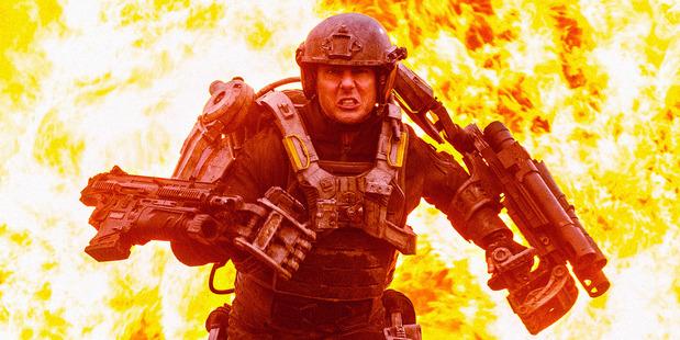 Tom Cruise stars in 'Edge of Tomorrow'.