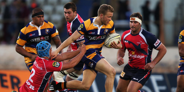 Dan Hollinshead has been one of only a handful of players to be given an extended run in the same starting position during the Bay of Plenty Steamers 2014 ITM Cup campaign. Photo / Getty Images