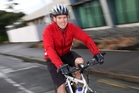 Shane Jansen cycles from Onerahi every morning and hopes Whangarei can become a cycling city. Photo / Michael Cunningham