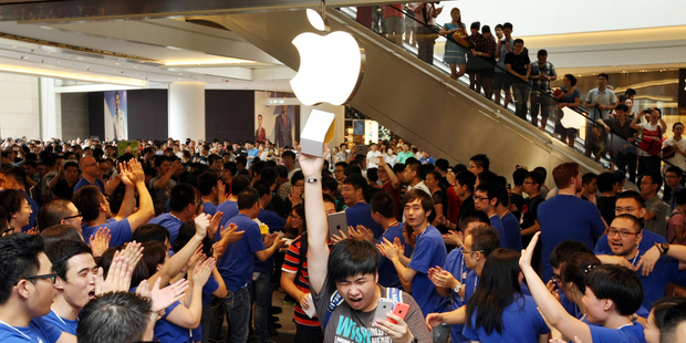 Pre-orders for the new iPhone are rolling in in China. Photo / Getty Images
