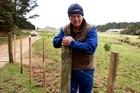 Mokau farmer Tom Komene has fenced his valuable stock in.