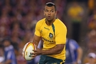 Kurtley Beale. Picture / Getty Images