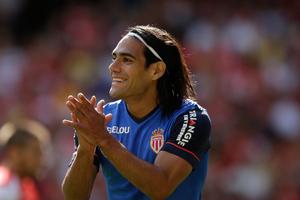 Manchester United's new signing Radamel Falcao. Photo / AP