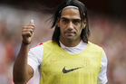 Radamel Falcao has joined Manchester United on loan. Photo / AP