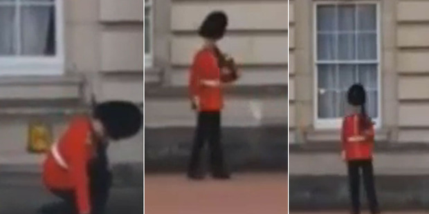 He had the moves sorted - but not with his higher ups at the Palace. Photo / Still from YouTube video