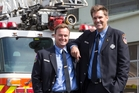 NY firemen in NZ honour victims of 9/11