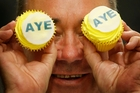 The Ayes have it if SNP leader Alex Salmond gets his way. Photo / AP