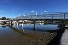 The new Kotuitui Whiti bridge across Waiarohia Stream will be formally opened tomorrow. Photo / Michael Cunningham