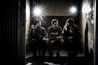 Nathanael Allen, Guy Brock and Sam Montgomery are the trio behind menswear label Moreporks. Photo / Babiche Martens.