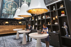The interiors at Andaz Amsterdam were inspired by the adventures of Lewis Carroll's Alice. Photo / Supplied