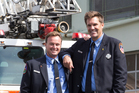 NY firefighters attend NZ memorial for 9/11 victims