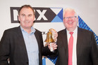 IkeGPS chief executive Glenn Milnes (L) with NZX chief executive Tim Bennett at the ikeGPS NZX listing event in July. Is it time for a new generation of NZX investors? Photo / Neil Mackenzie