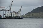 Vega Auriga in Tauranga Harbour. Photo/file.