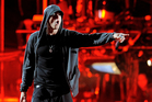 Eminem rhymed his way into the Guinness World Records with his song 'Rap God'. Photo / AP