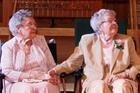 Vivian Boyack, left, and Alice 'Nonie' Dubes in Davenport, Iowa. Photo / AP