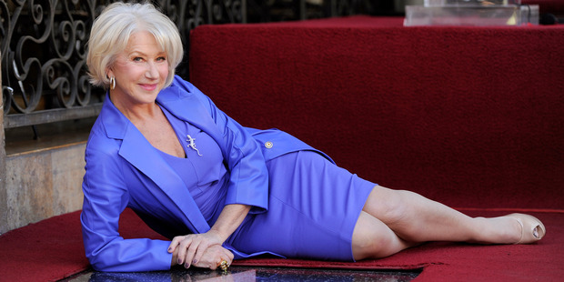 British actress Helen Mirren. Photo / AP
